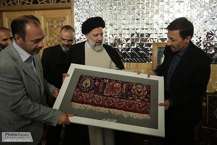 دیدار هیئت امنا،رئیس و مدیران کمیته امداد امام خمینی( ره ) با تولیت آستان قدس رضوی