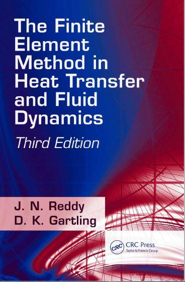 دانلود کتاب روش اجزا محدود در انتقال حرارت و دینامیک سیالات