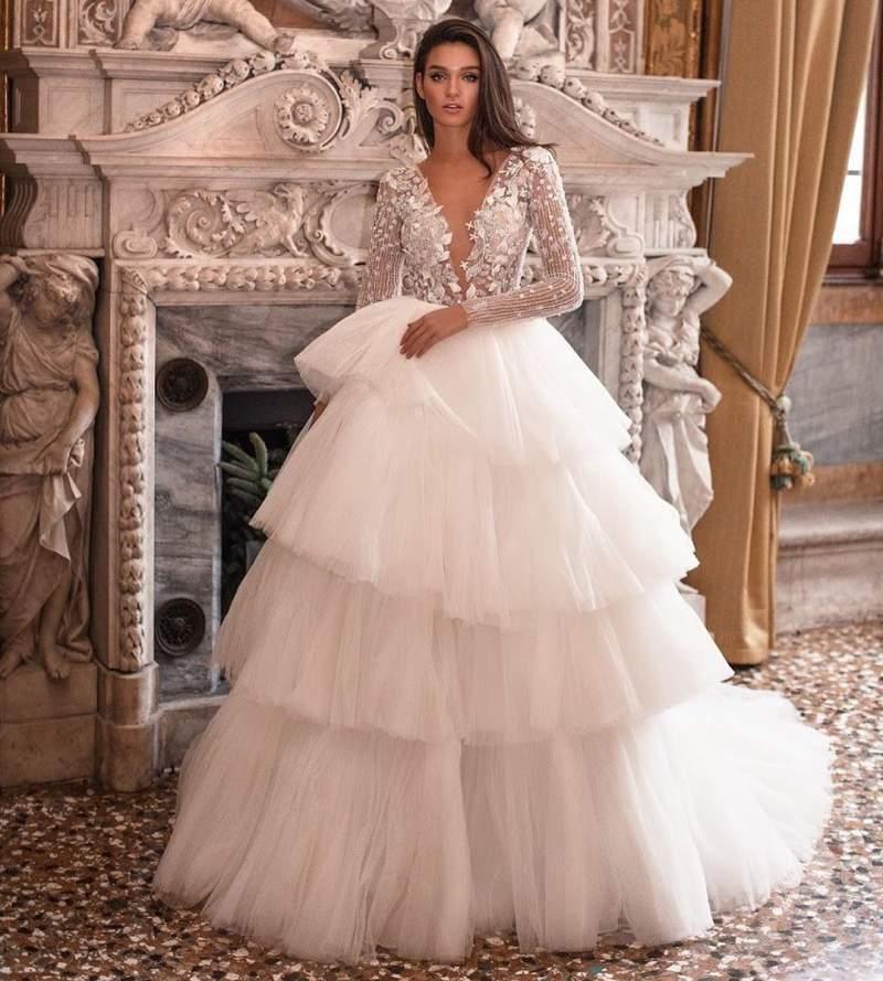 لباس عروس 2019 کلاسیک