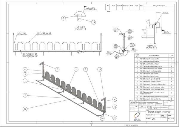طراحی تجهیزات دامپروری-2