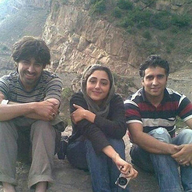 عکس قدیمی و دیده نشده گلشیفته فراهانی در کنار شهاب حسینی
