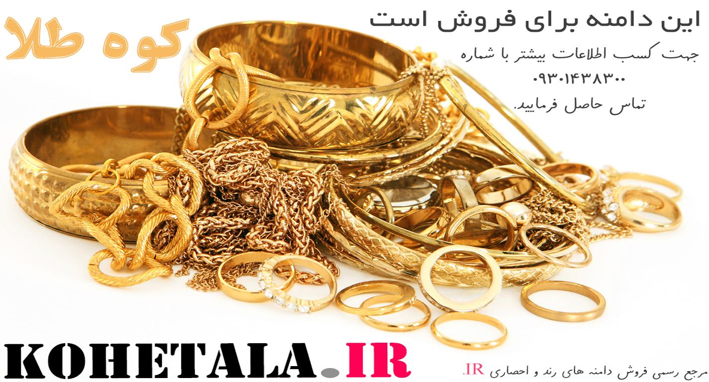 فروش دامنه کوه طلا