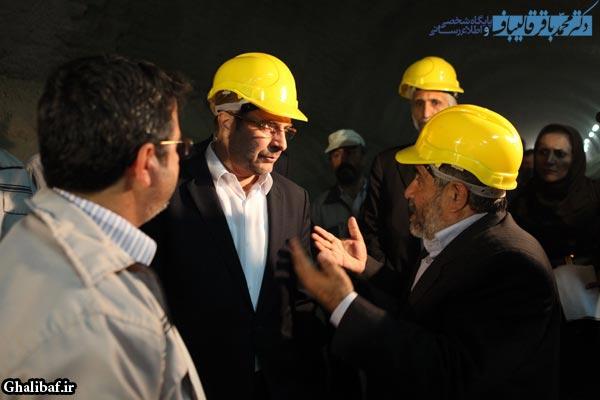 بازدید از پروژه مترو حرم امام(ره) تا فرودگاه امام خمینی (ره)