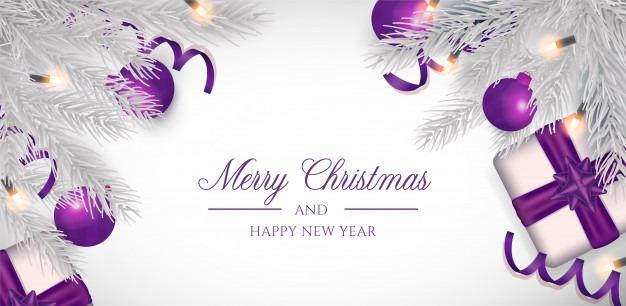 کارت پستال زیبا و شیک برای تبریک کریسمس