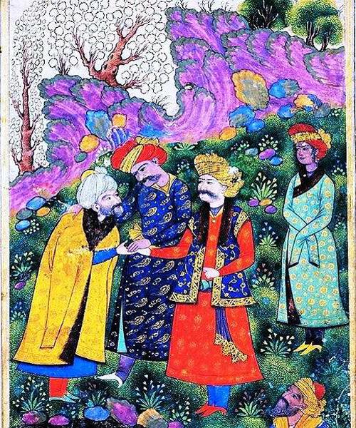 شاه عباس و سه دزد