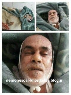 عکس حبیب بعد از فوت در سردخانه