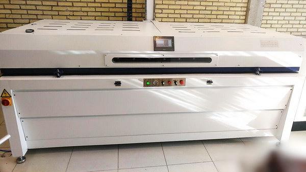 MDF veneer press machine