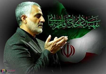 دانلود عکس پروفایل شهید سردار قاسم سلیمانی