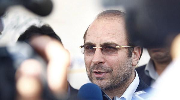 حاشیه مراسم افتتاح فاز اصلی بزرگراه شهید باکری