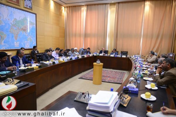 دیدار شهردار تهران با نمایندگان مجلس شورای اسلامی