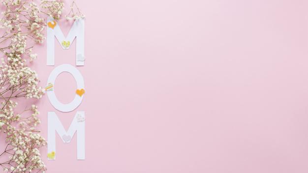 عکس نوشته مادر دوست دارم انگلیسی برای روز مادر