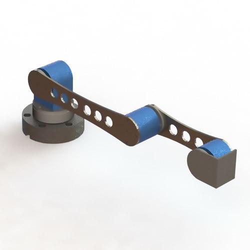 دانلود پروژه سالیدورک بازوی رباتیک
