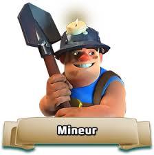 ترکیب برای معدنچی در کلش آف کلنز