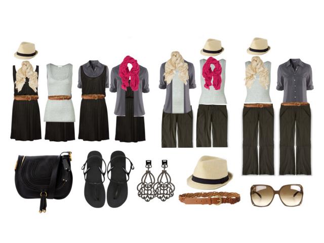 ملزومات سفر: لباس های ضروری مسافرت