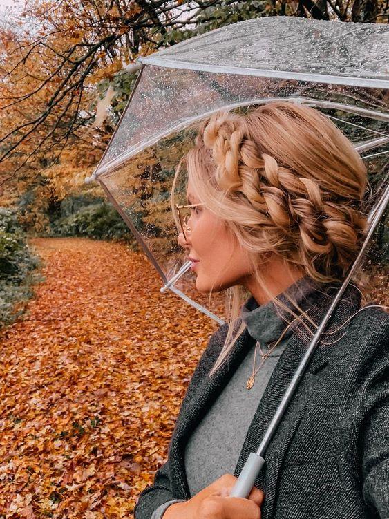 ست زیبای عکس پاییزی دخترانه برای عکس پروفایل