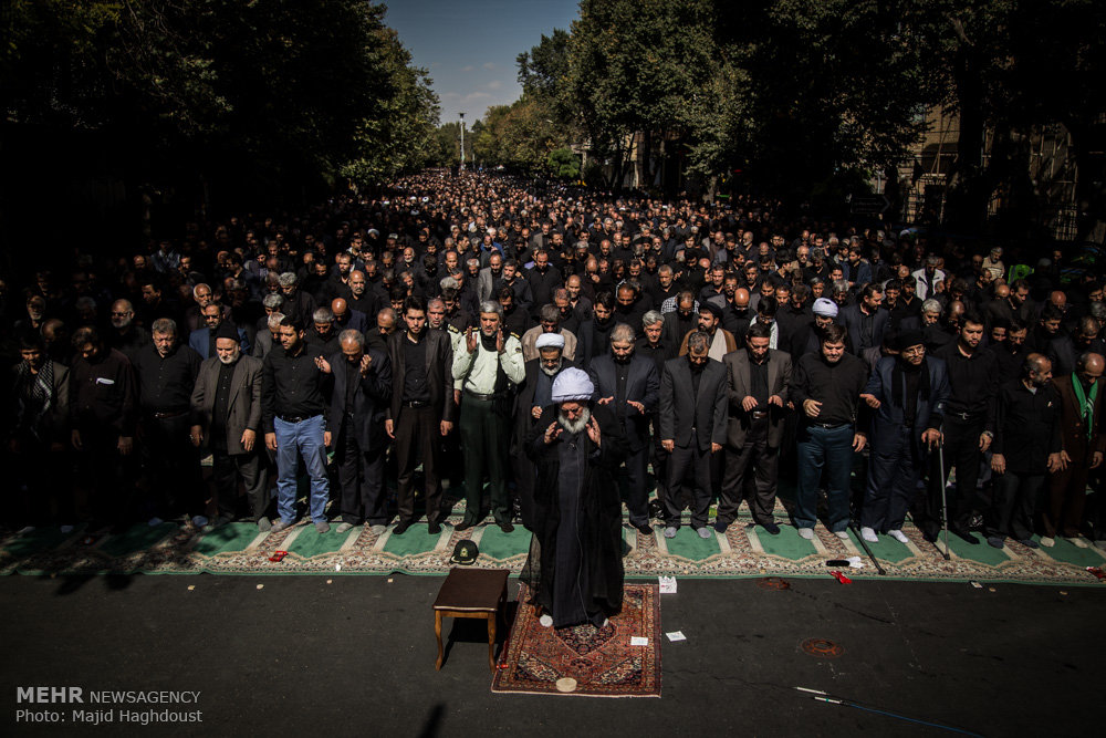 Ashura noon prayer