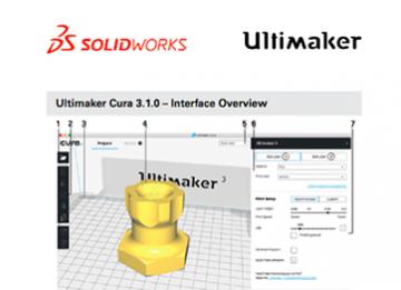 دانلود رایگان نرم افزار Cura برای پرینت سه بعدی Solidworks