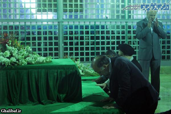 مراسم تجدید میثاق مدیران و کارکنان شهرداری تهران با آرمانهای امام خمینی(ره)
