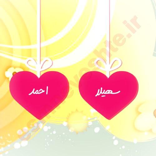 اسم دو نفره سهیلا و احمد