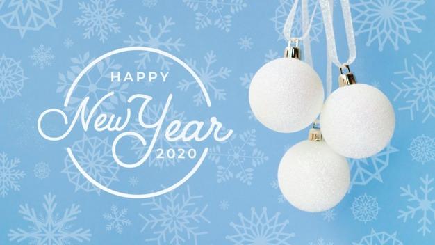 کارت پستال شیک برای تبریک کریسمس 2020