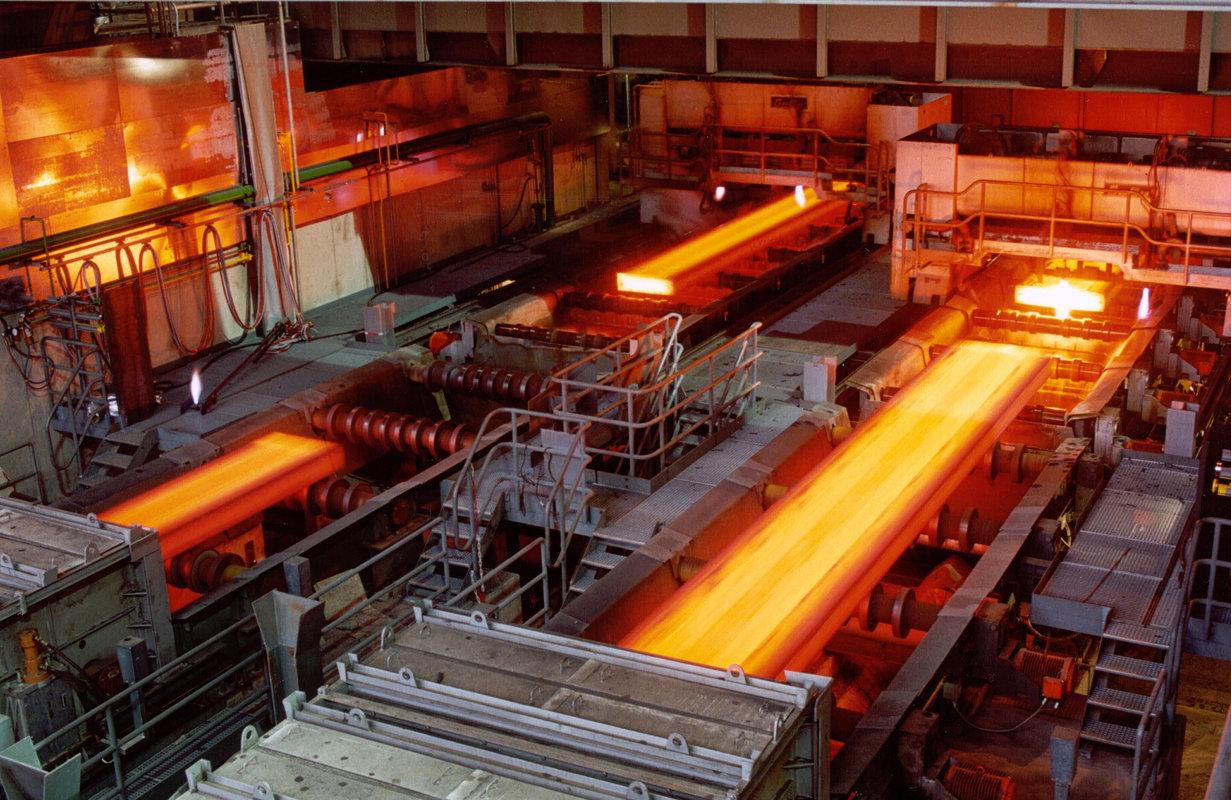 تولید شمش فولاد