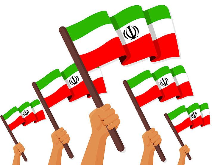 پرچم ایران بدون زمینه با فرمت png