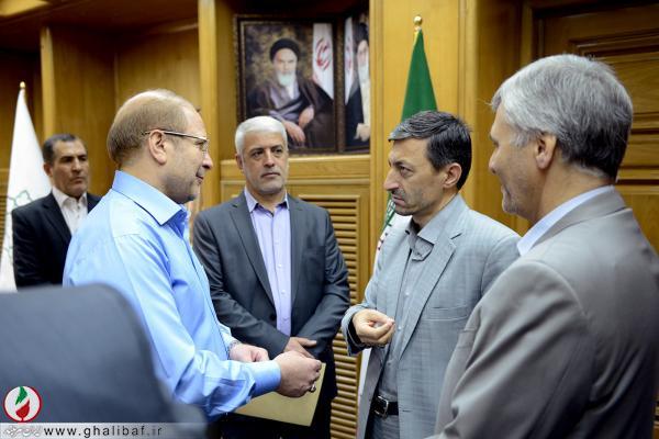 دیدار شهردار تهران با رئیس کمیته امداد امام خمینی