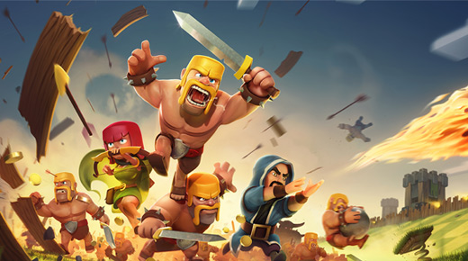 دانلود Clash of Clans v7.65.5