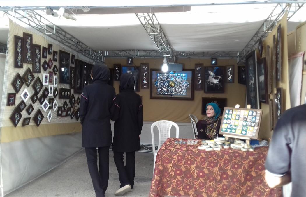 نمایشگاه صنایع دستی دانشگاه شیراز
