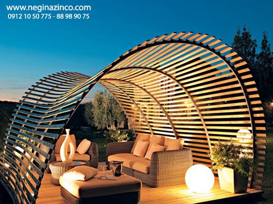 - Metallic pergola design ideas seven elegant choices ...