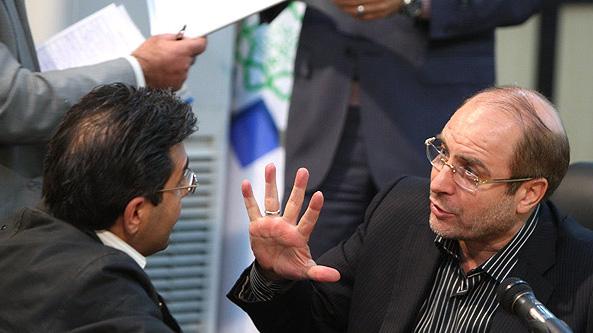 سخنان دکتر قالیباف در جمع خبرنگاران در حاشیه جلسه دیدار و گفت وگوی مستقیم با شهروندان
