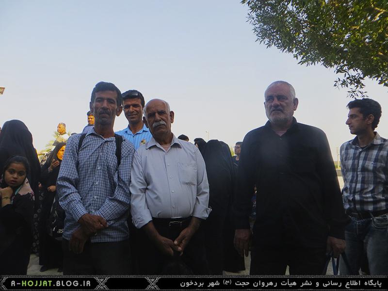 اعزام کاروان اربعین حسینی شهر بردخون-بوشهر