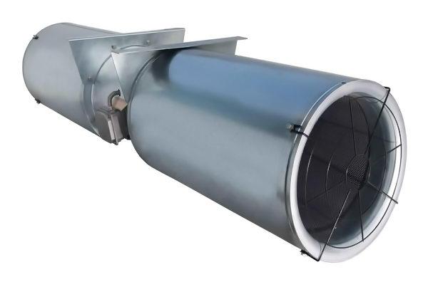 تصویر نمونه یک جت فن تونلی