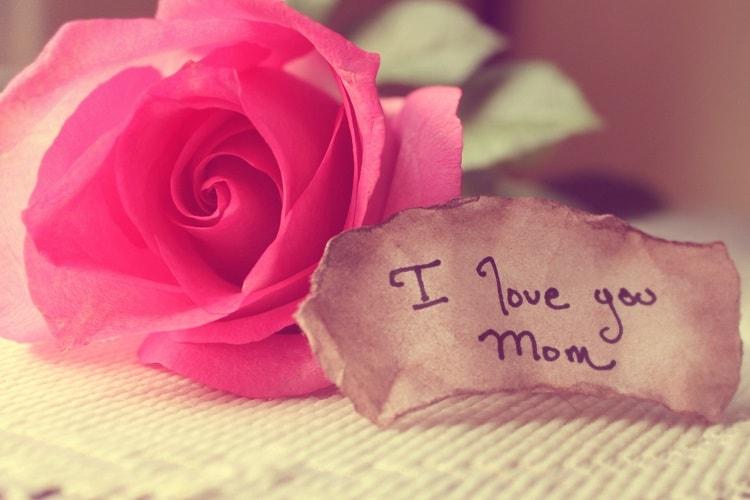 جدیدترین عکس نوشته تبریک روز مادر i love you mom