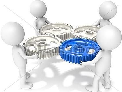 نماد های مدیریتی - همکاری