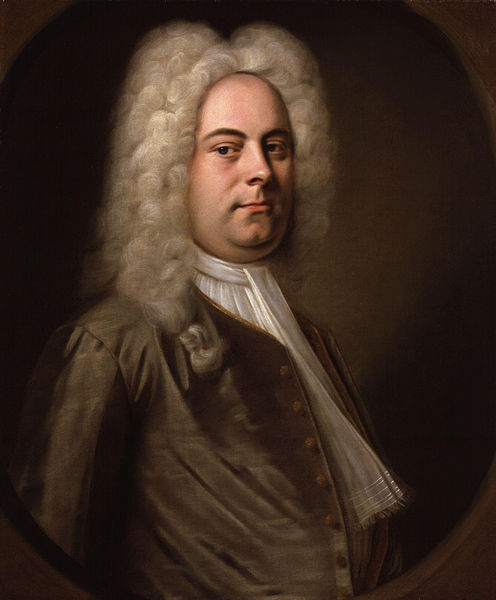 Portrait of Handel, by Balthasar Denner (c. 1726–1728)