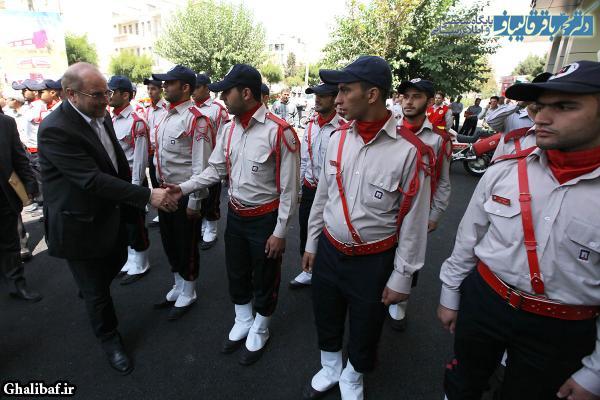 مراسم افتتاح همزمان ۴ ایستگاه آتش نشانی