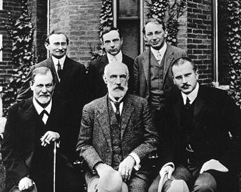 زیگموند فروید، گرانویل استانلی هال، کارل یونگ,آبراهام. ای بریل، ارنست جونز، سندور فرنزی