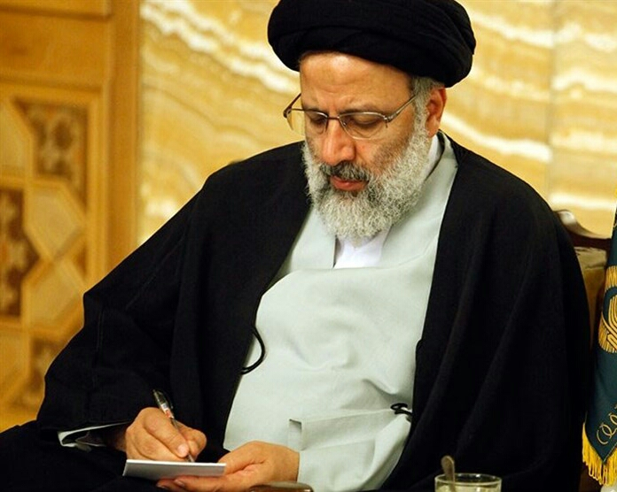 نامه حجة الاسلام سیدابراهیم رئیسی به دبیر شورای نگهبان
