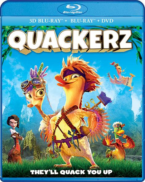دانلود انیمیشن کواکرز Quackerz 2016 با لینک مستقیم