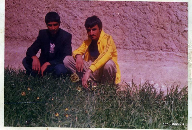 شهید محمد علی ناظری و شهید محمد حسن کبیری