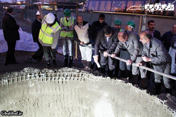 بازدید دکتر قالیباف از پروژه های تونل نیایش و بزرگراه طبقاتی صدر