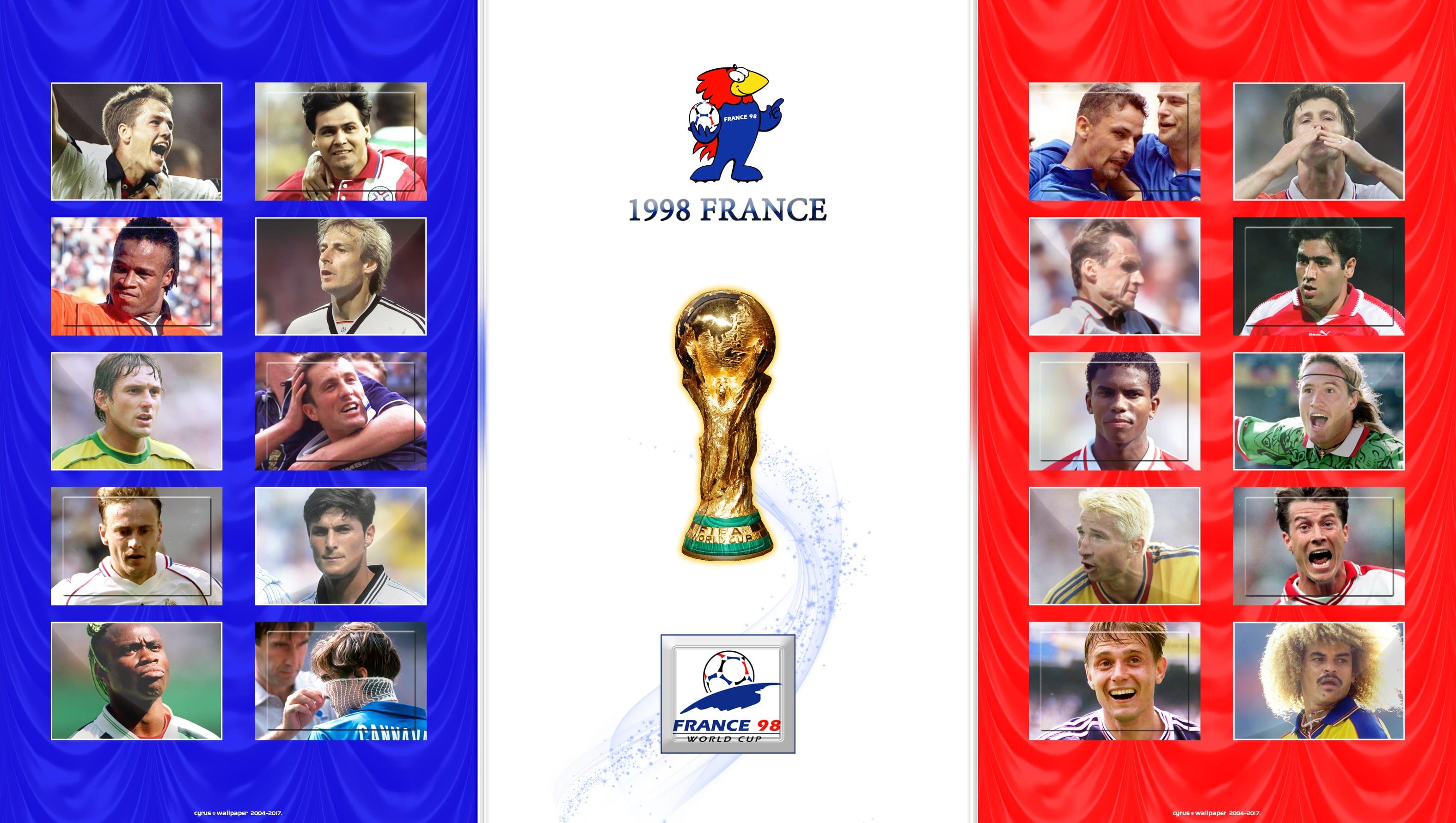 والپیپر جام جهانی 1998 فرانسه