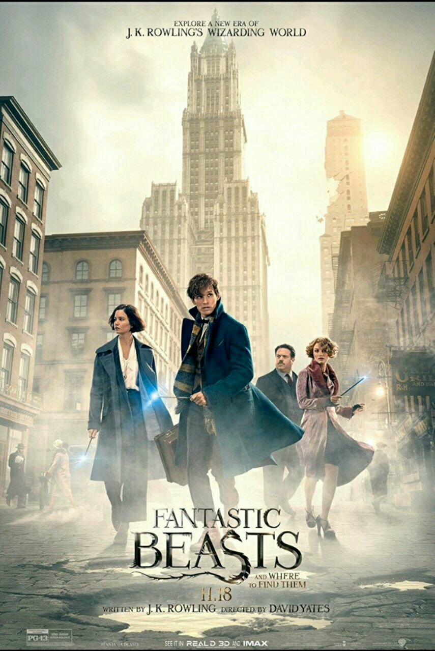 Fantastic beasts and where to find them-2016