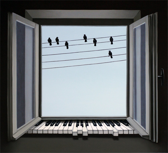 Chords of Window by Mihai Criste