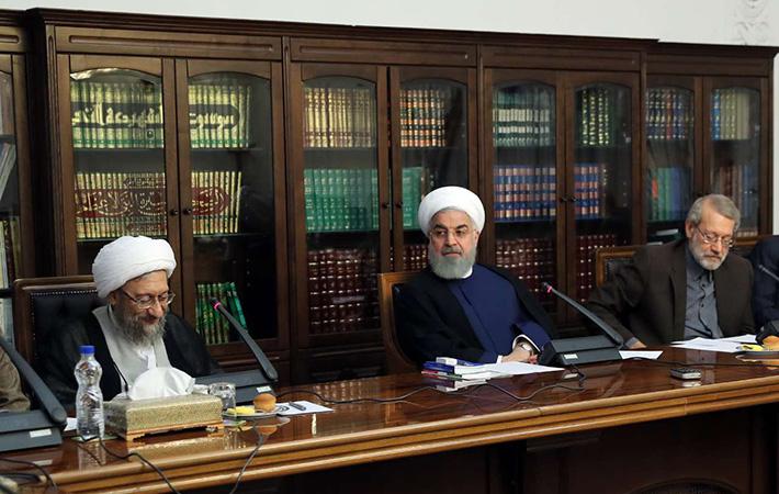 مجمع تشخیص مصحلت نظام با حضور رئیس جمهور و سایر اعضا برگزار شد