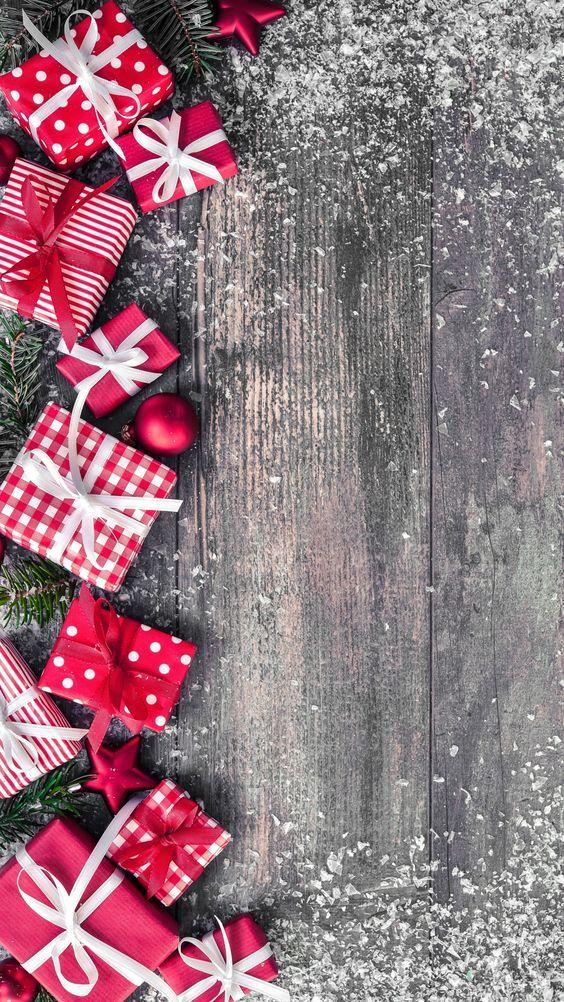 پس زمینه با کیفیت کریسمس برای موبایل