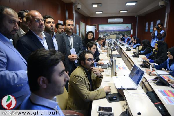 بازدید شهردار تهران از ستاد گردشگری تهران