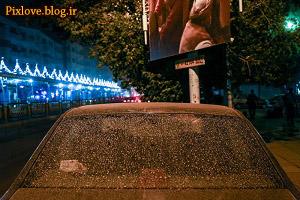 خسارت طوفان تهران چقدر بود؟؟امار,خسارت طوفان در دوشنبه 9 شهریور!