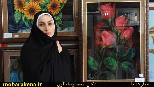 زهره غلامی -نقاش سبک رئال